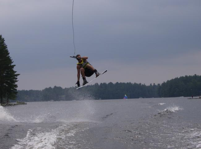 how to jump the wake