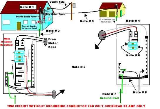 wiring diagram for detached garage  wiring  get free image