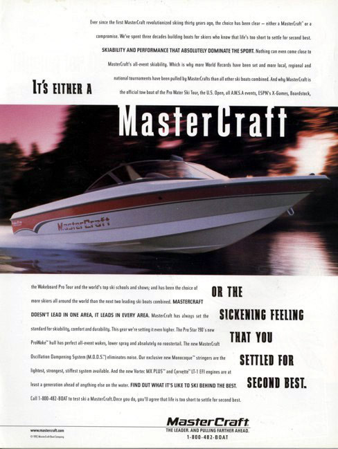 Name:  1 - 190 (1998) - it's either a MasterCraft or.jpg Views: 54050 Size:  94.6 KB
