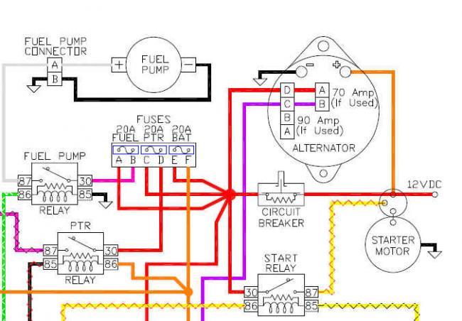 Indmar Alternator Wiring Diagram : Battery isolator teamtalk