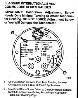 faria tachometer installation instructions