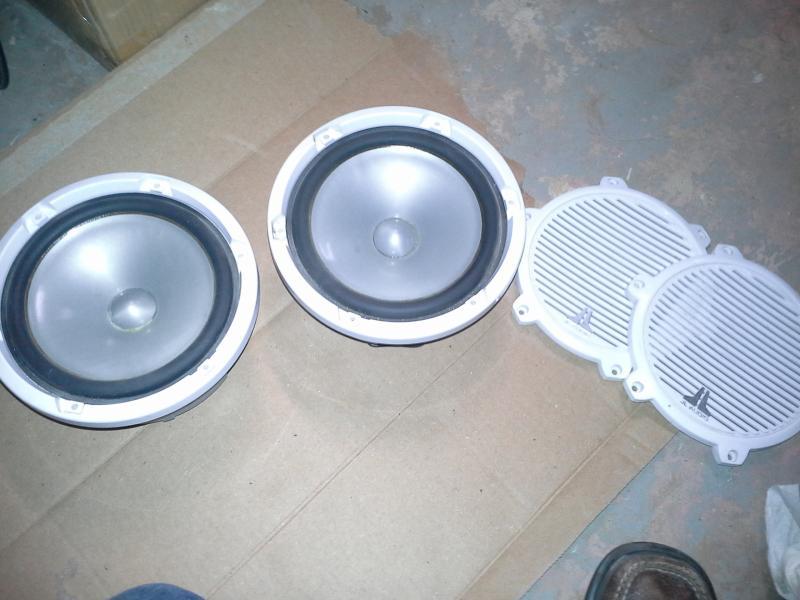 FS: JL Audio Stereo Equipment M770 speakers, e6450m amp, 10