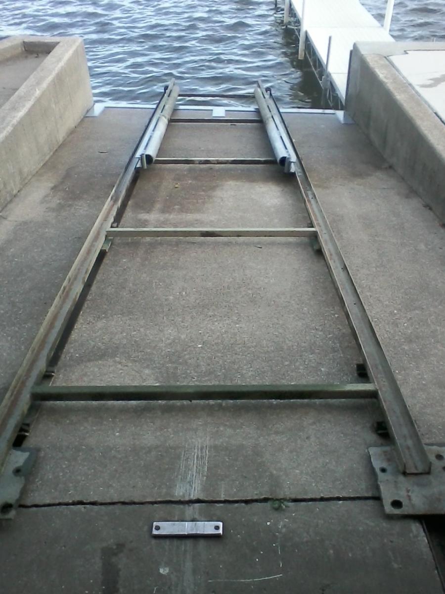 Boat Lifts Garage : Fun boat lift garage project at work teamtalk