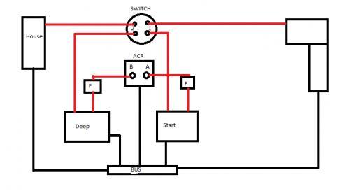 Dual Battery Wiring Teamtalk