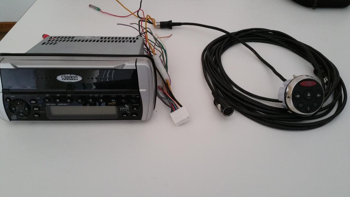 clarion boat radio wiring diagram dodge dakota fuse panel