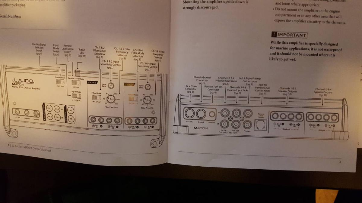 amp manual diagrams  attached images