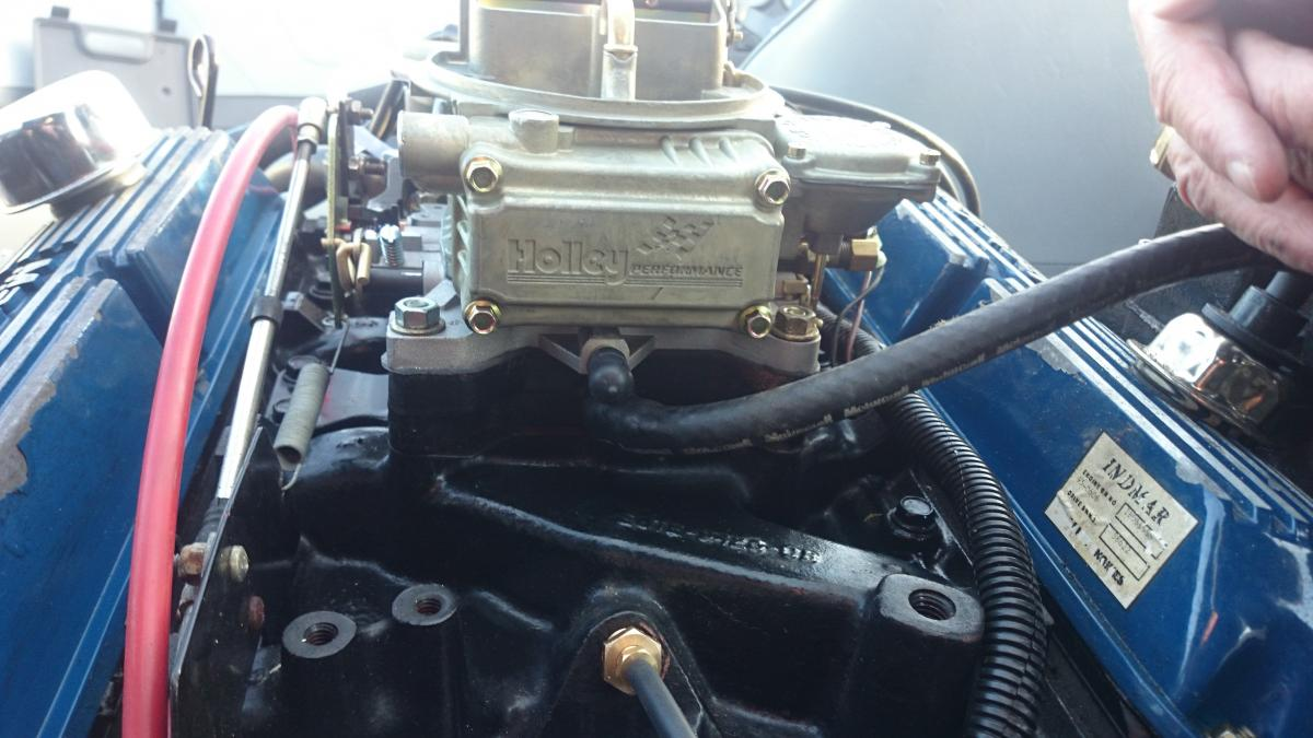 New Holley Carb Installed - need help - hard starting
