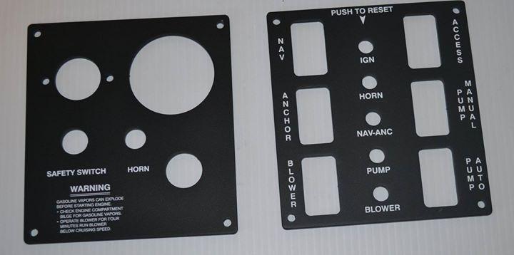 MasterCraft Key Switch Panel