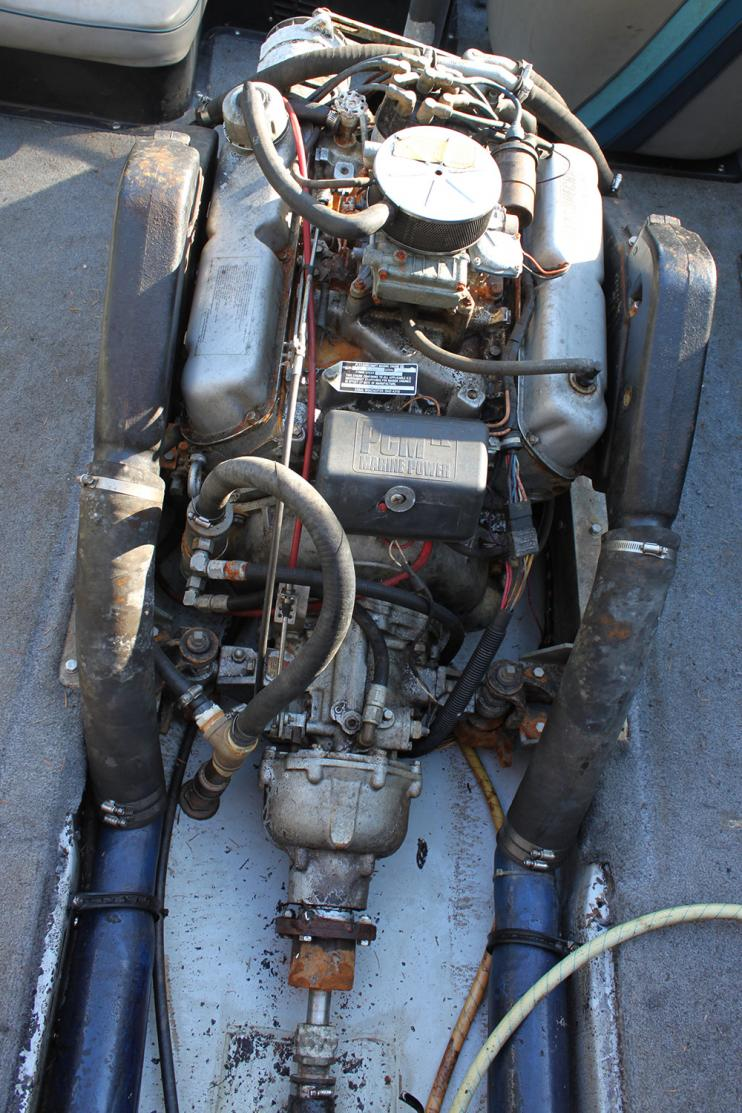 1985 1986 Mastercraft Skier P S Teamtalk 351 Windsor Marine Engine Wiring Harness Attached Images
