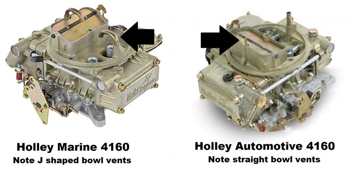 Marine vs  Automotive Carburetor - TeamTalk
