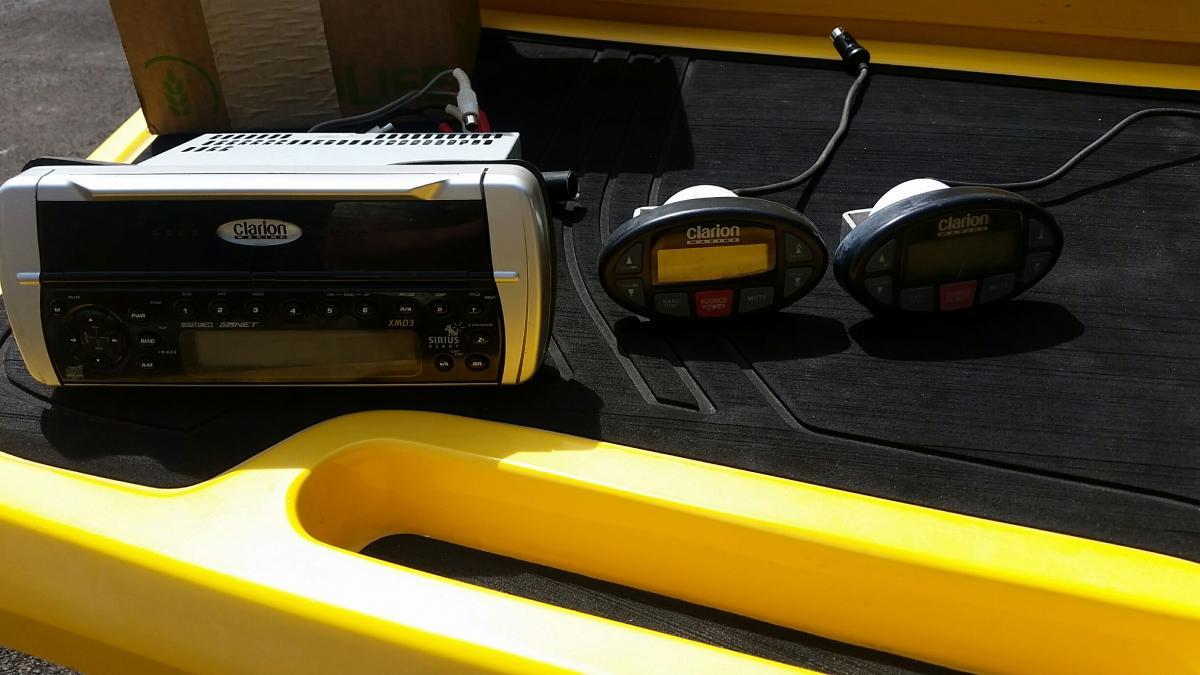 JL Audio tower speakers/lights, amp, sub, Clarion head unit